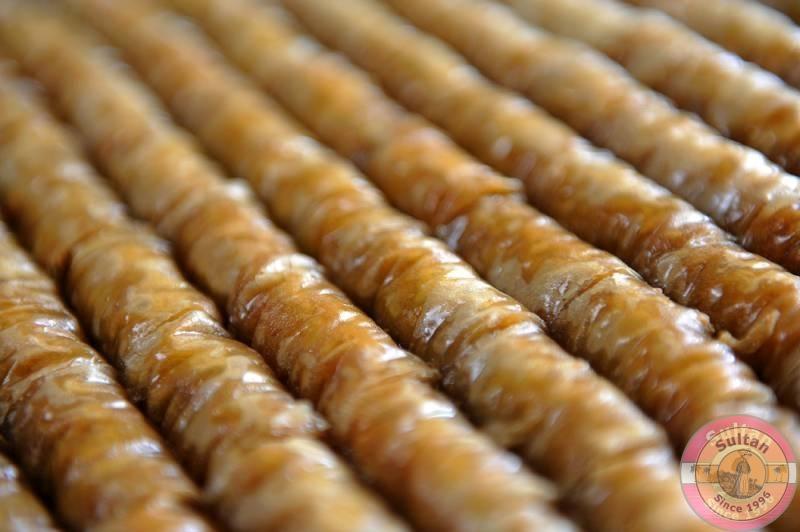 Пахлава с грецким орехом