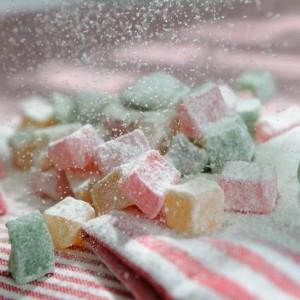 Лукум ассорти в сахарной пудре
