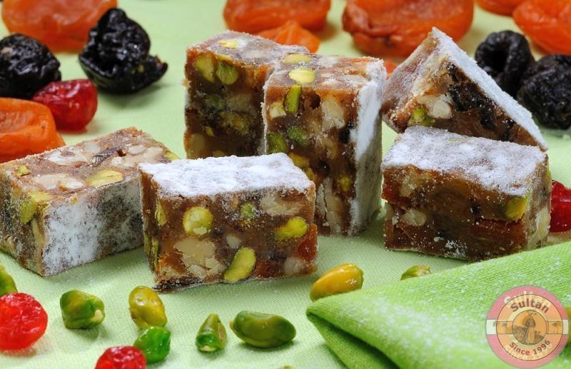 Итальянский десерт фруктово-ореховый Панфорте