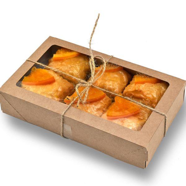 Пахлава с грецким орехом и апельсином