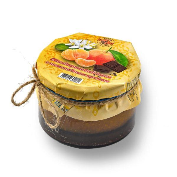 Мандариновый джем с шоколадным кремом